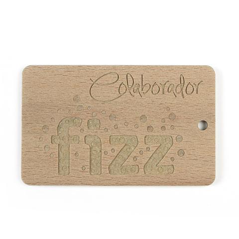 Placa colaborador Fizz